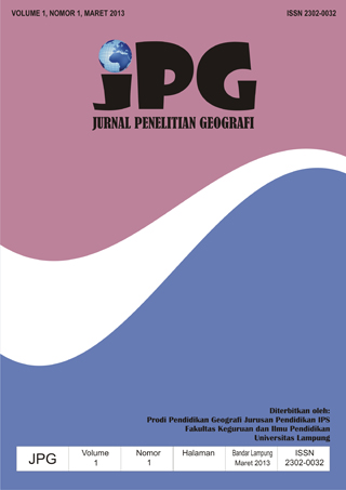 Jpg Jurnal Penelitian Geografi